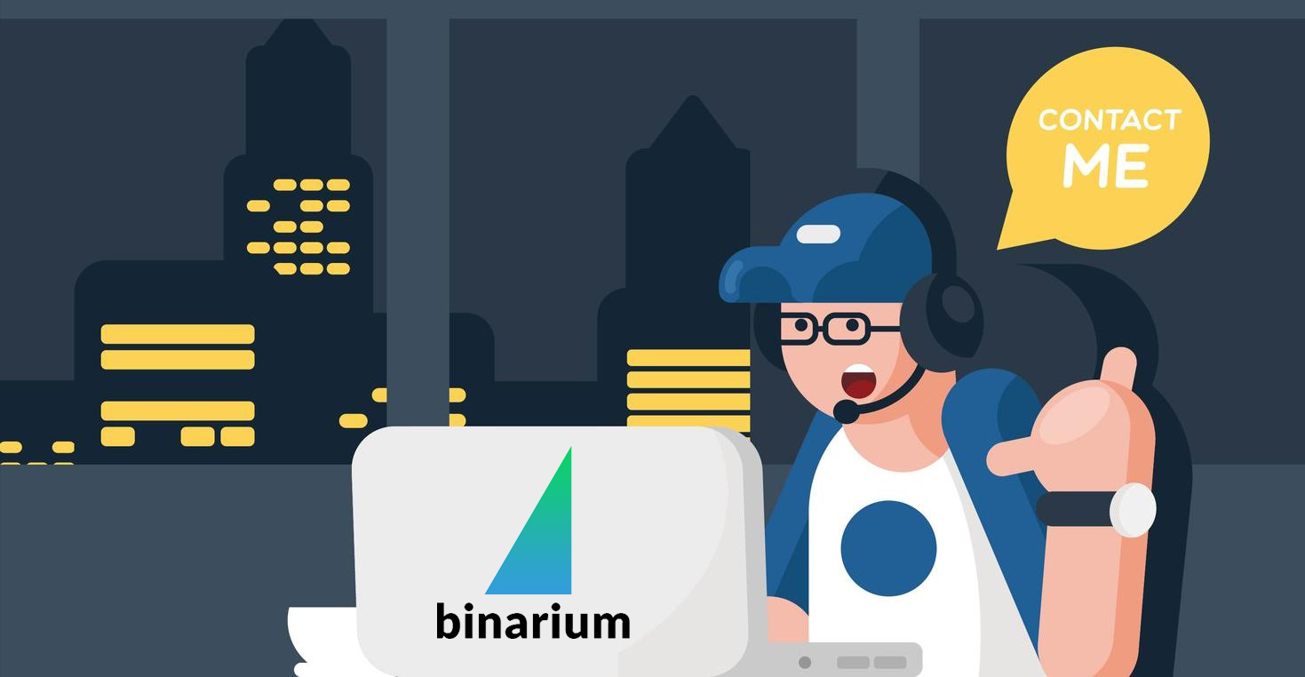 How to Contact Binarium Support