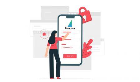Come aprire un account e accedere a Binarium