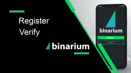 How to Register and Verify Account in Binarium