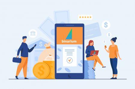 Come prelevare e fare un deposito in Binarium