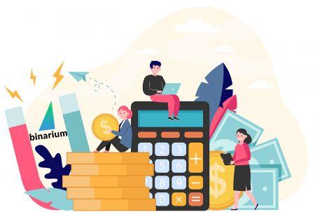 Come accedere e depositare denaro in Binarium