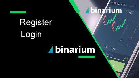 Come registrarsi e accedere all'account in Binarium Broker