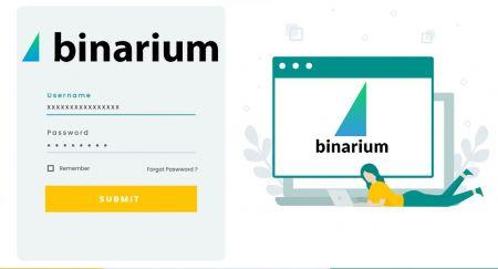 نحوه افتتاح حساب تجاری و ثبت نام در Binarium