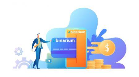 Cách đăng nhập và rút tiền từ Binarium
