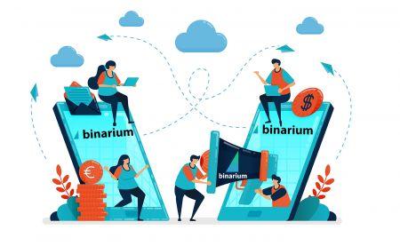 Come aderire al programma di affiliazione in Binarium